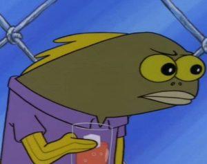 Spongebob Angry Fish